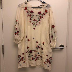 Gorgeous Zara Embroidered dress.